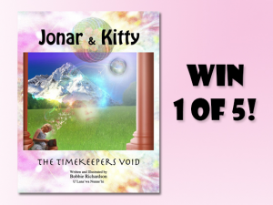 Sweepon – Win 1 Of 5 New Age Children's Fiction – jonar  Kitty (prize valued at  $80)