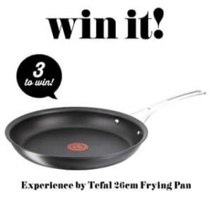 Taste – Win 1/3 Tefal 26cm Frying Pans (prize valued at $690)