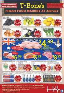 T-Bones Fresh Meat Aspley – Win a $100 Or $50 T-Bones Voucher