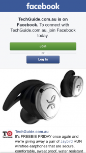 Techguide – Win a Pair of Jaybird Run Wire Free Earphones