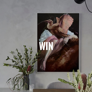 """The Block – Win """"the Catcher"""" Canvas Print (prize valued at  $570)"""