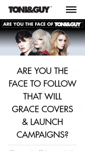 TONI&GUY – Win TONI&GUY Hair Service For One Year, A Trip to London