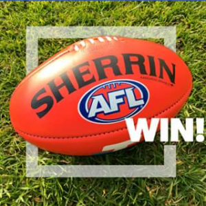 Sports Power – Win an official 2017 Toyota AFL Finals Series Gameball (prize valued at $189.99)
