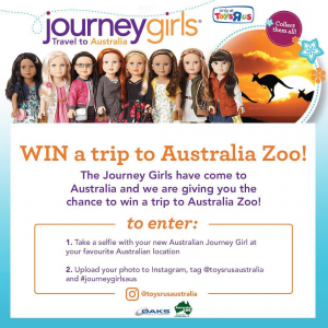 Toys R Us – Win A Trip to Brisbane with #journeygirlsaus