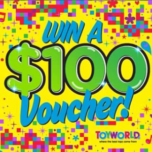 Toyworld Canberra – Win A $100 Toyworld Canberra Voucher (prize valued at $100)