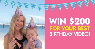 Healthy Mummy – Win $200 For Your Best Birthday Video (prize valued at $600)