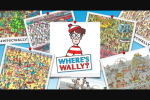 Waurn Ponds Shopping Centre – Win 1 of 20 Where's Wally (prize valued at $100)