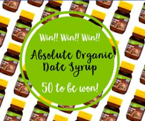 Absolute Organic – Win Your Very Own Absolute Organic Date Syrup