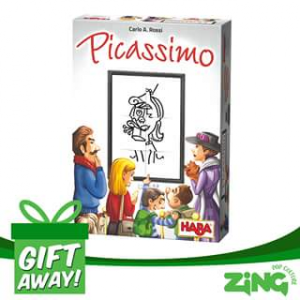 Zing Pop Culture Australia – Win a Picassimo Board Game