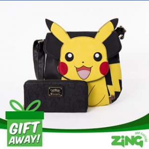 Zing Pop Culture – Win A Pokemon Loungefly Handbag  Purse