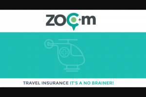 Zoom Travel Insurance – Win a $1000 Cash Card (prize valued at $1,000)