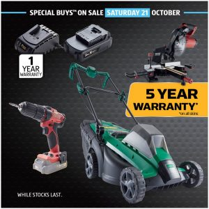 ALDI Australia – Win 1 of 2 prizes of new tools for the shed