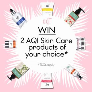 AQI Skin Care – Win 2 AQI Skin Care products of your choice