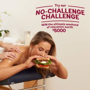 Bakers Delight – Win the ultimate weekend of relaxation valued at $5,000 & a Year's supply of Bread