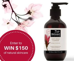 Blessed By Nature Australia – Win 1 of 10 Skincare packs valued at $150 each