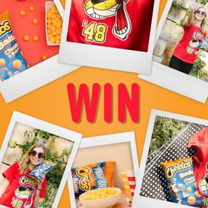 Cheetos Australia – Win 1 of 20 Cheetos t-shirts