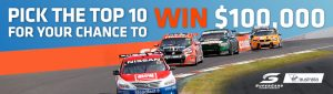 Coates Hire Operations – Leaderboard Challenge – Win up to $100,000 during the 2017 Virgin Australia Supercars Championship season
