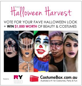 CostumeBox – The Halloween Harvest – Win $1,000 worth of Beauty and Costumes