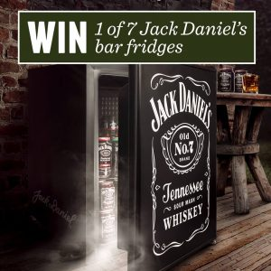 Dan Murphy's – Win 1 of 7 Jack Daniel's Bar Fridges
