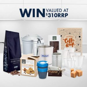 De'Longhi Australia – October Social Media – Win 1 of 2 Coffee accessory packs valued at $310 each