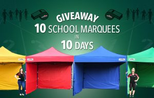Extreme Marquees – Win 10 School Marquees in 10 Days