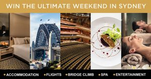 Hunter & Bligh Media – Win the Ultimate Weekend for 2 in Sydney valued at up to $4,000