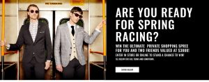Jack London – Win the Ultimate Private Shopping Spree for 3 valued at $3,000