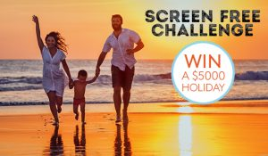 Kinderling Kids Radio – Screen Free Challenge – Win a $5,000 Holiday with Volvo Cars