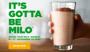Nestle Australia – MILO Moments – Win 1 of 125 MILO Magic Mugs – MILO branded colour changing heat mug