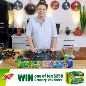The Cook's Pantry – Scotch-Brite – Win 1 of 10 Woolworths's WISH gift cards valued at $250 each
