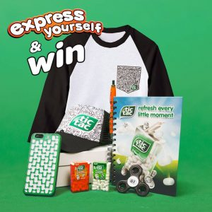 Tic Tac – Win 1 of 20 Tic Tac #ExpressYourself prize packs
