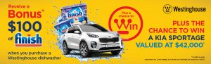 Westinghouse – Win a Kia Sportage valued at $42,000