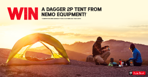 Wild Earth – Win a Dagger 2P Tent from Nemo Equipment