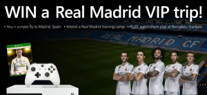 Xbox Australia – Win a trip for 2 to Madrid, Spain to watch a Real Madrid match valued at AU$23,000