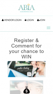 ABIA – Win a Share of $50000 In Wedding Prizes (prize valued at $50,000)
