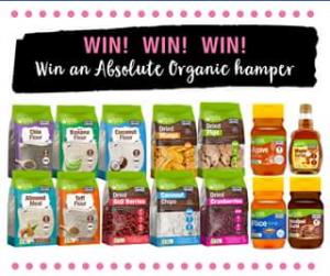 Absolute Organic – Win a Hamper Full of Absolute Organic Goodies