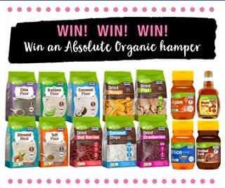 Absolute Organic – Win a Hamper Full of Absolute Organic Goodies