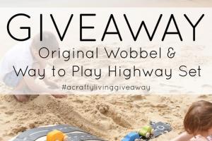 acraftyliving – Win an Original Wobbel & Way to Play Highway Set
