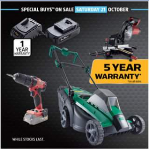 Aldi Australia – Win New Tools for Your Shed