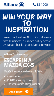 Allianz – Win Your Way to Inspiration