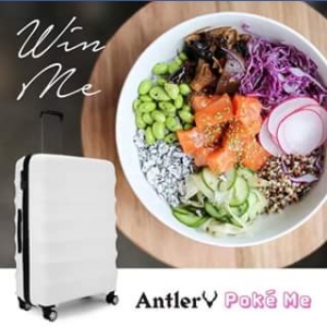 Antler Luggage – Win The Perfect On-The-Go Prize (prize valued at $1)