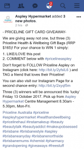 Aspley hypermarket – Win 1 Simply