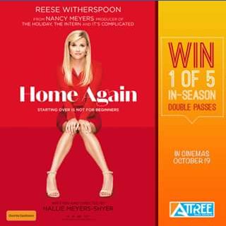 Attree Real estate – Win 1 of 5 In-Season Double Passes to See Home Again