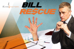 3AW – Win A bill paid by The Blind Factory – up to $1000 value (prize valued at $4,000)