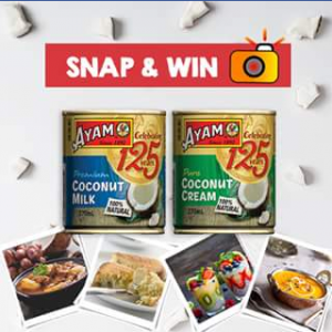 Ayam Australia – Win 1 of 5 Ayam™ Coconut Hampers (prize valued at $50)