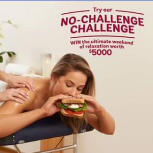 Bakers Delight – Win The Ultimate Weekend of Relaxation Worth $5000 and a Year's Supply of Bread (prize valued at $8,235)