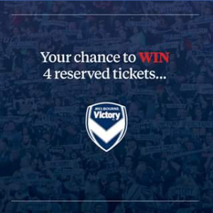 Barry Plant Noble Park FB – Win 4 Reserved Seats to Melbourne Victory Vs Western Sydney Wanderers on Monday 6 November 2017 at Etihad Stadium