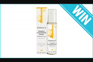 Beauty Heaven – Win 1 of 10 Derma E Vitamin C Concentrated Serums