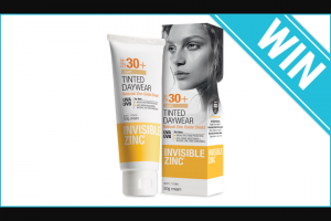 Beauty Heaven – Win 1 of 5 Invisible Zinc Tinted Daywear Spf30 UVA-UVB Lotions