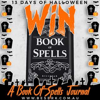 Beserk – Win a Book of Spells Journal From > Wwwbeserkcom/killstar &#128420